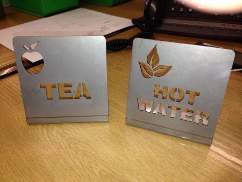 Tea and Coffee - Desk Display